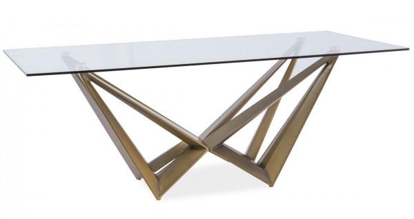 Stoly dřevo + sklo