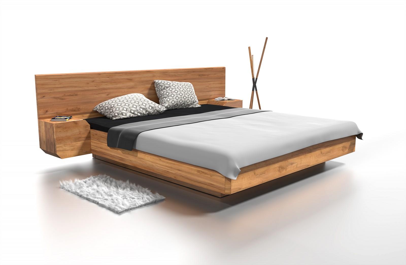 Dřevěná Postel Mutombi