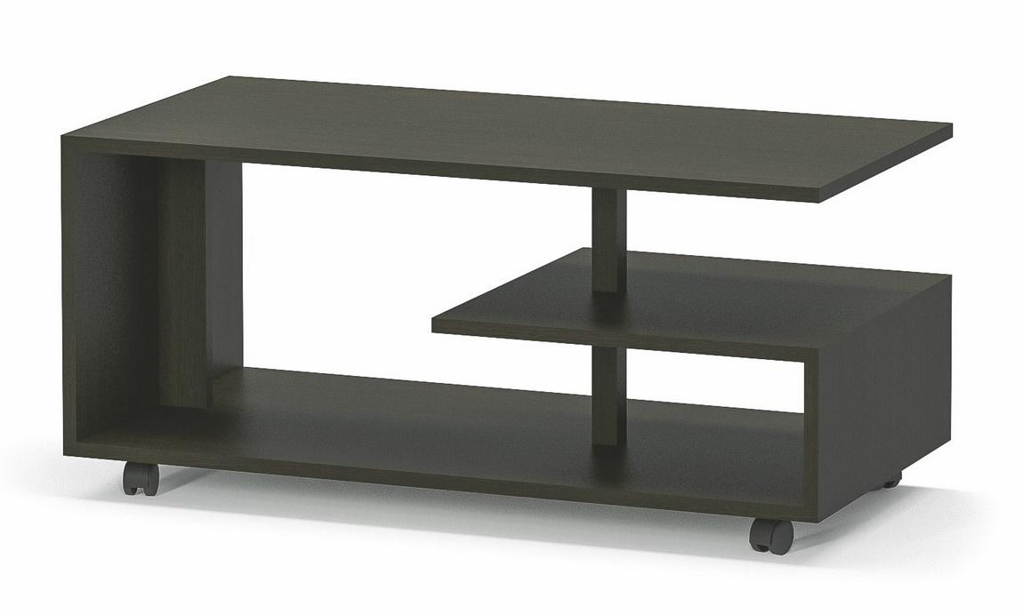 Konferenční stolek na kolečkách TURIN wenge