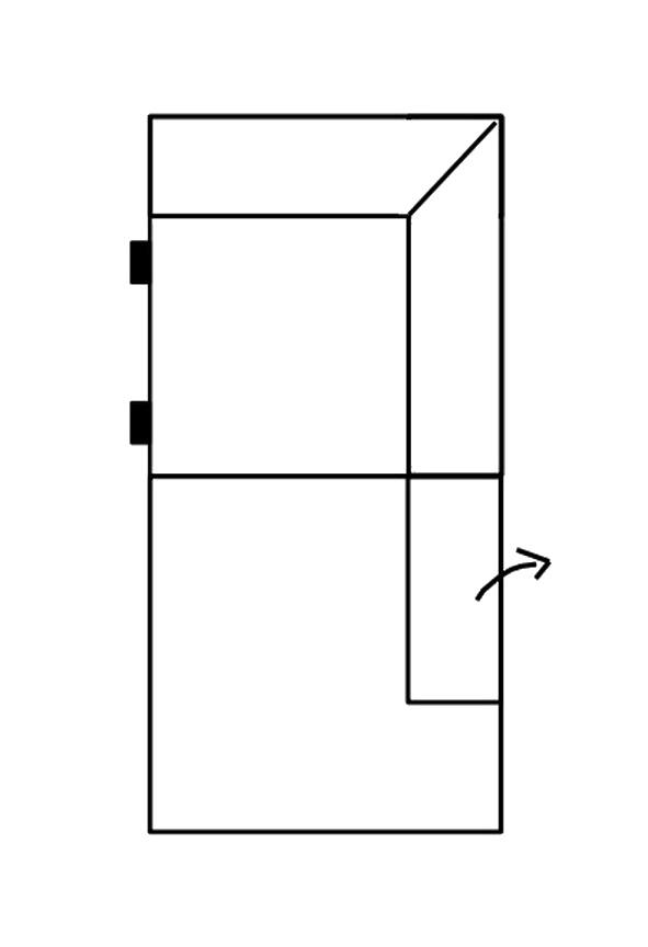 Segment otoman s ÚP SELECT pravý, látky A1