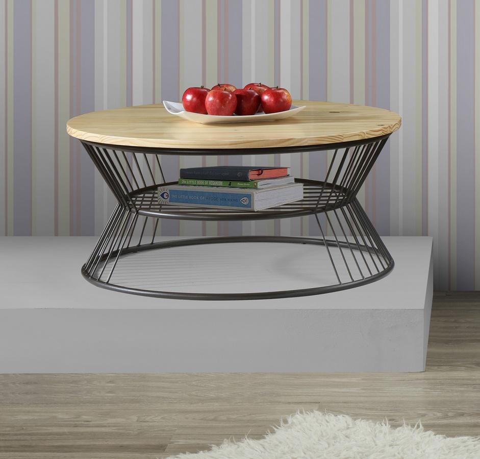 Konferenční stolek PURE II S2 natural/černá