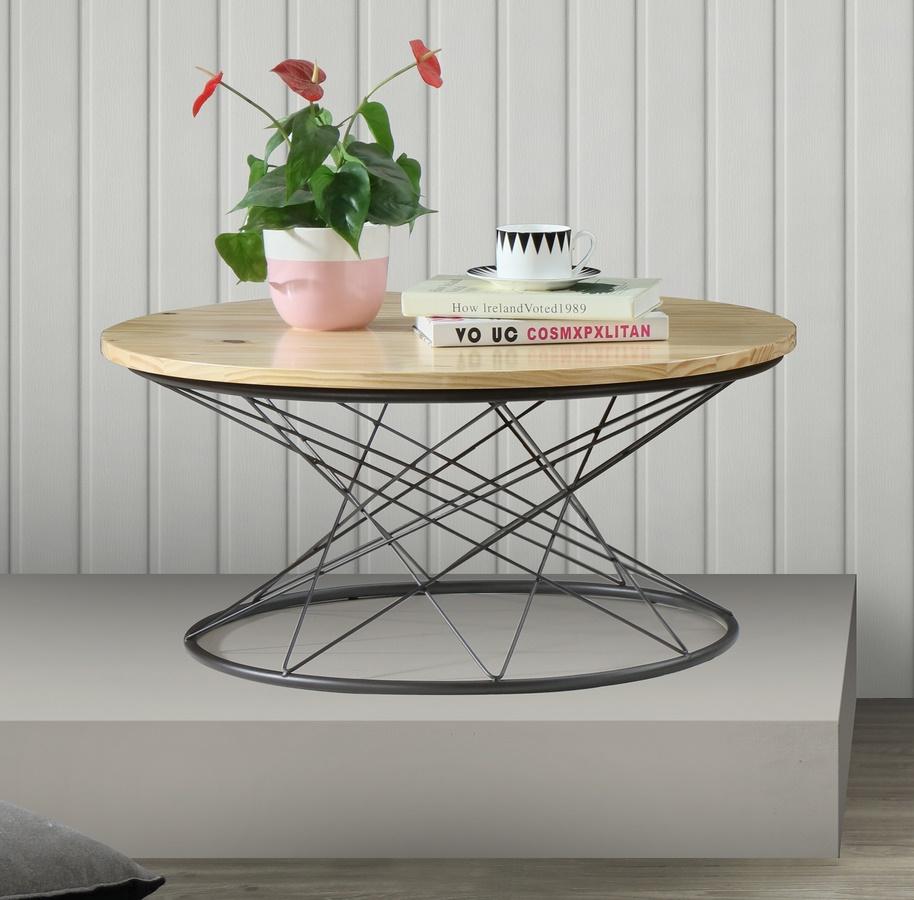 Konferenční stolek PURE I S1 natural/černá