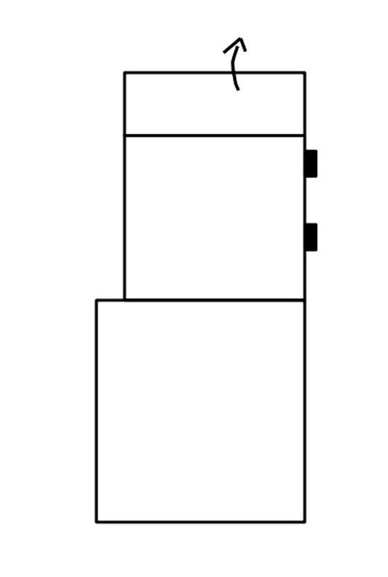 Segment otoman s ÚP bez boku SELECT levý, látky A1