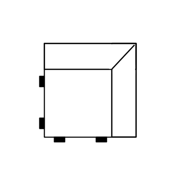 Segment rohový díl SELECT, látky A1