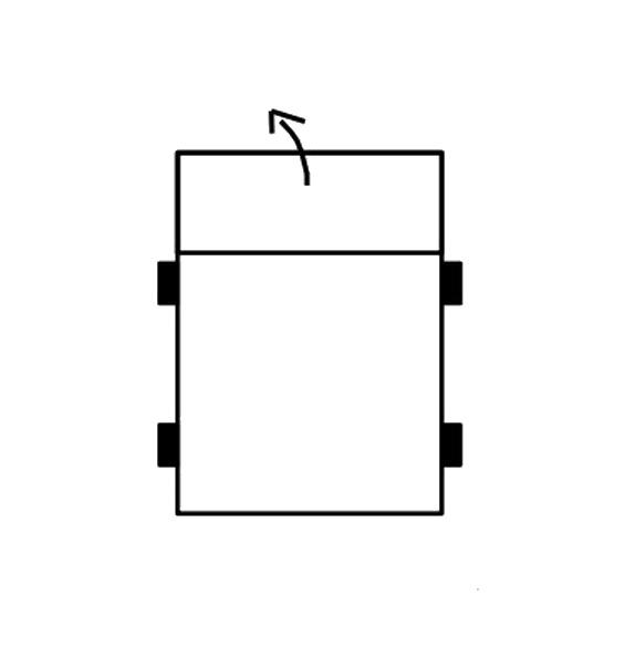 Segment sedák bez boků SELECT, látky A1
