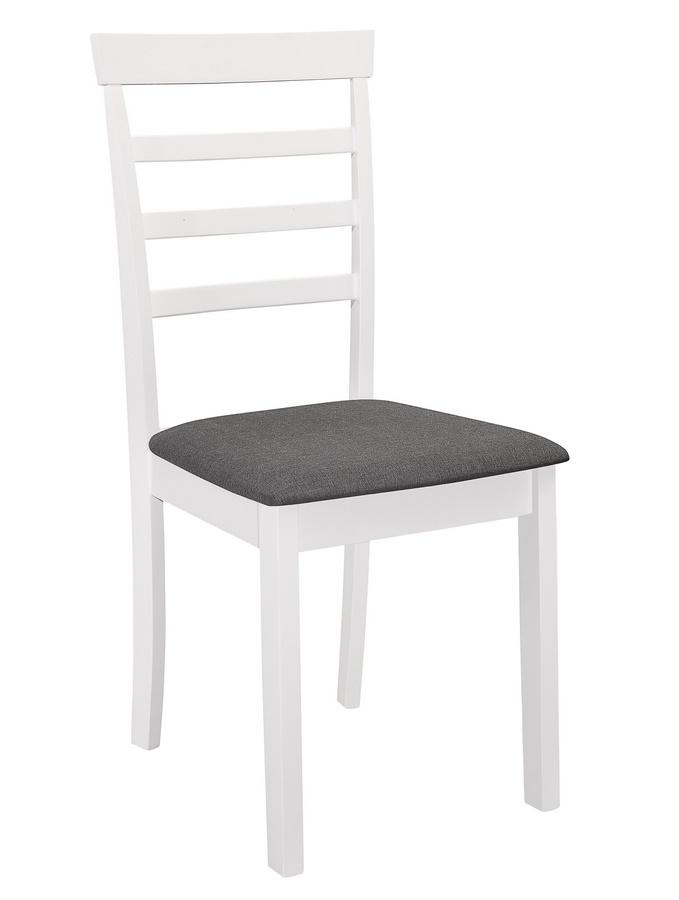 Jídelní čalouněná židle VILLACH bílá/šedá
