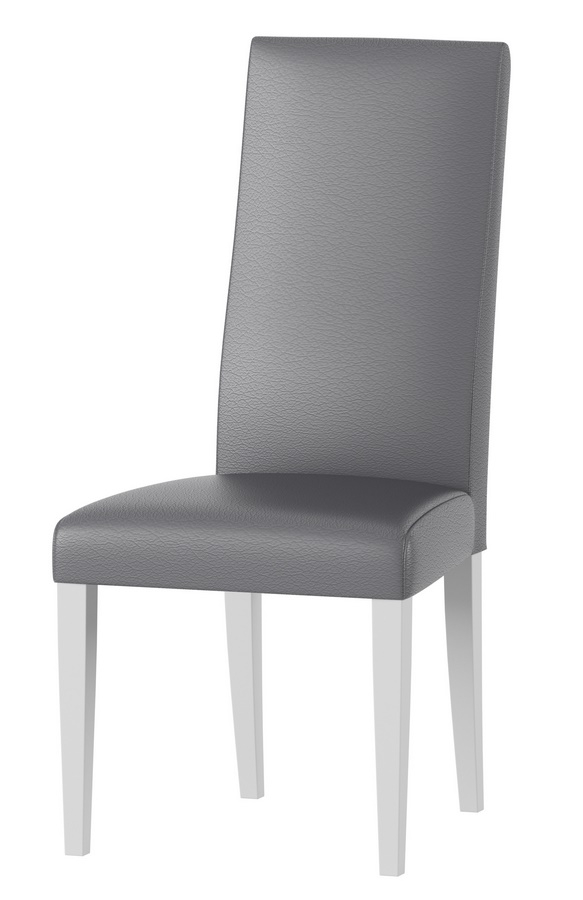 Jídelní čalouněná židle VOLANO 141 bílá mat