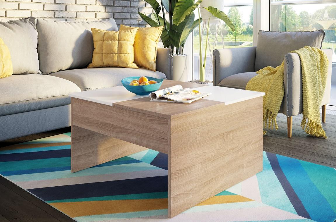 Konferenční stolek PALMI sonoma