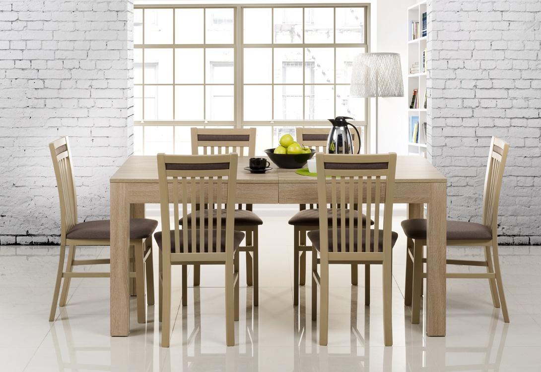 Jídelní stůl rozkládací SICILIA sonoma