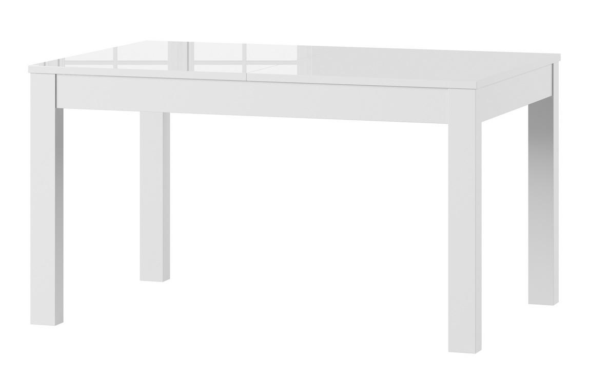 Jídelní stůl rozkládací POPOLI bílá lesk