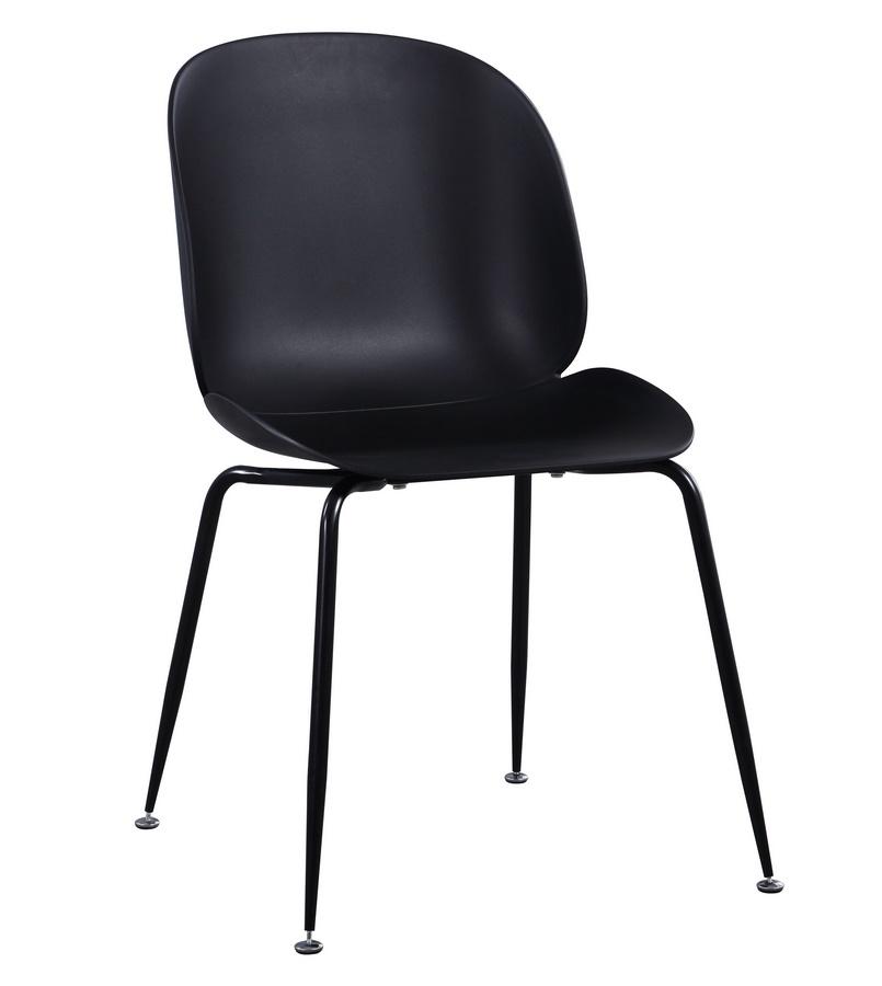 Jídelní židle BOOGIE černá
