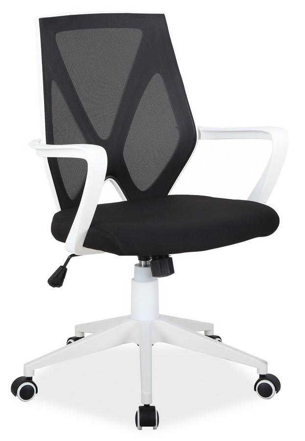 Kancelářské křeslo Q-258 černá/bílá