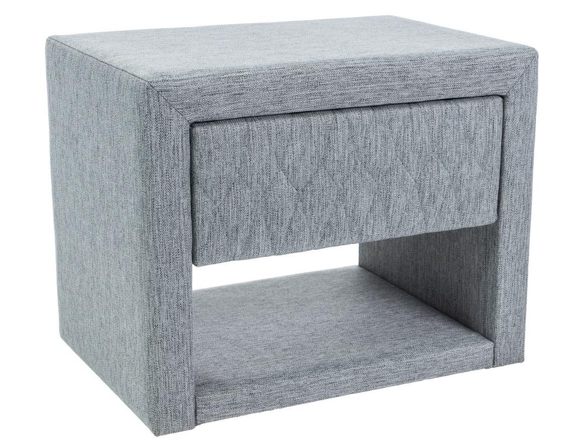 Noční stolek AZURRO šedá