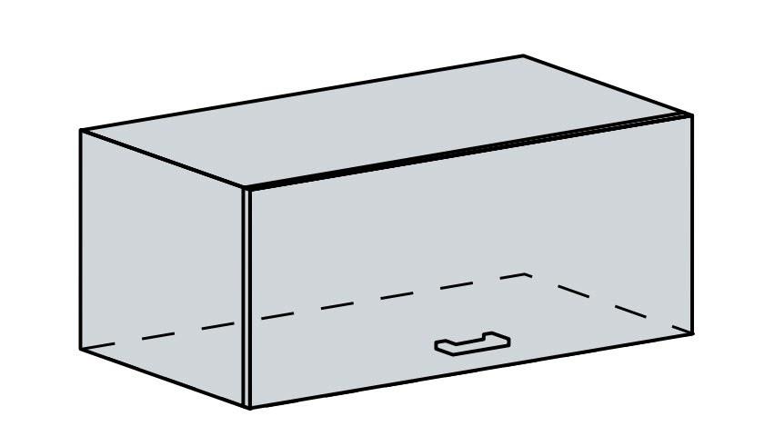 80VP h. skříňka výklopná VALERIA wk/bílá lesk