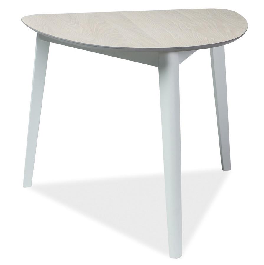 Jídelní stůl KARL dub bělený