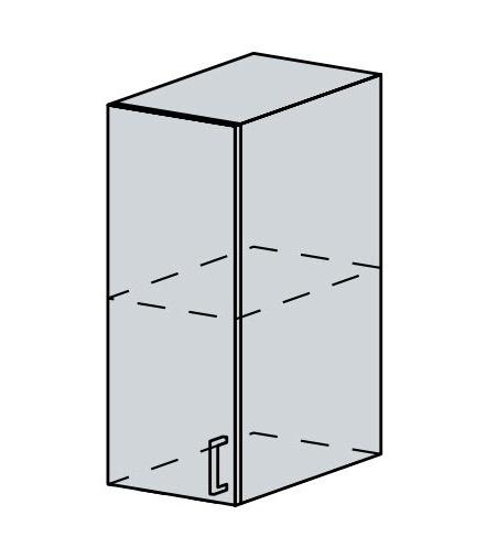 30H h. skříňka 1-dveřová VERONA jasan šimo