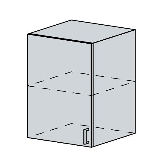 60H1D h. skříňka 1-dveřová VERONA zlatý jasan