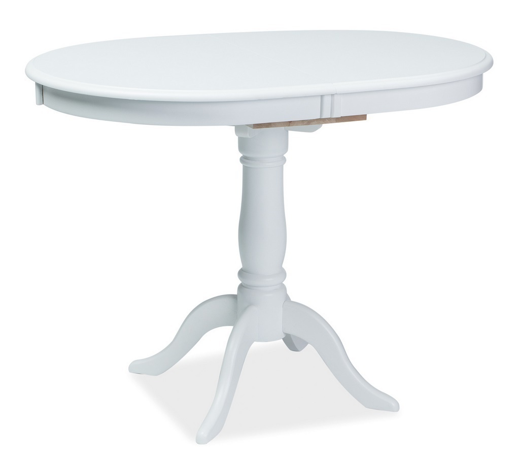 Jídelní stůl DELLO rozkládací bílý