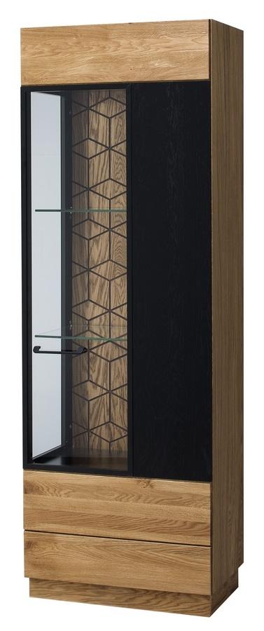 Vitrína 1-dveřová pravá MOSAIC 11