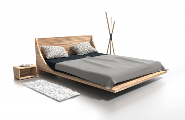 Dřevěná postel Ross