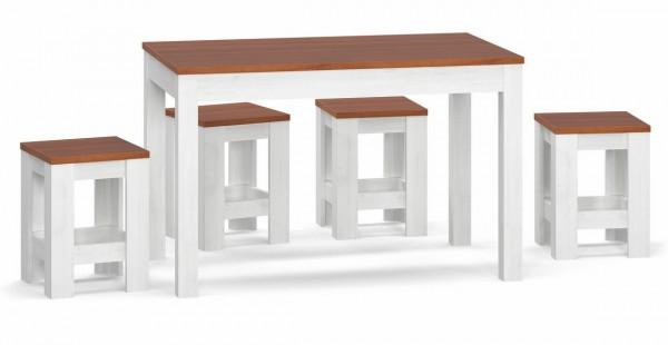 Jídelní židle 2ks CASA 97018 andersen/třešeň