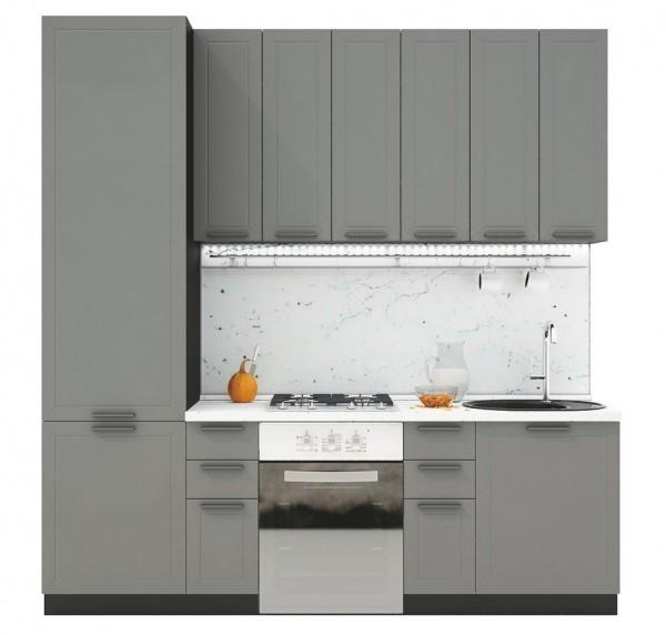 Kuchyně GLACIER 240 wk/marengo