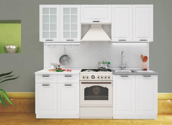 Kuchyně PRAGA 220 bílá/bílá