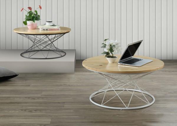 Konferenční stolek PURE I S1 natural/bílá