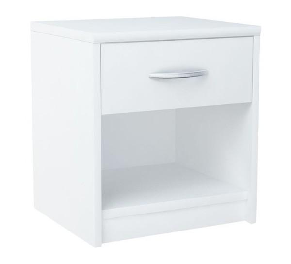 Noční stolek MARK 026 bílá