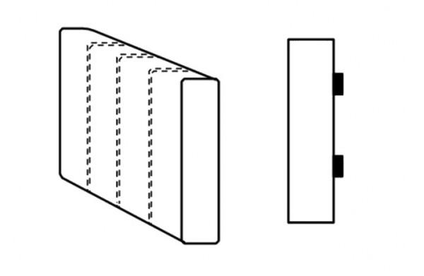Segment bok C SELECT levý, látky A1
