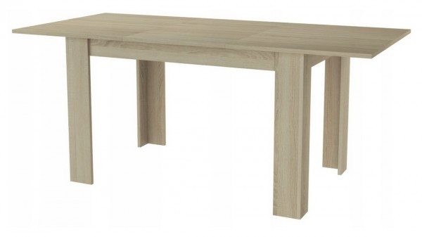 Jídelní stůl rozkládací MANGA 120(170)x80 sonoma