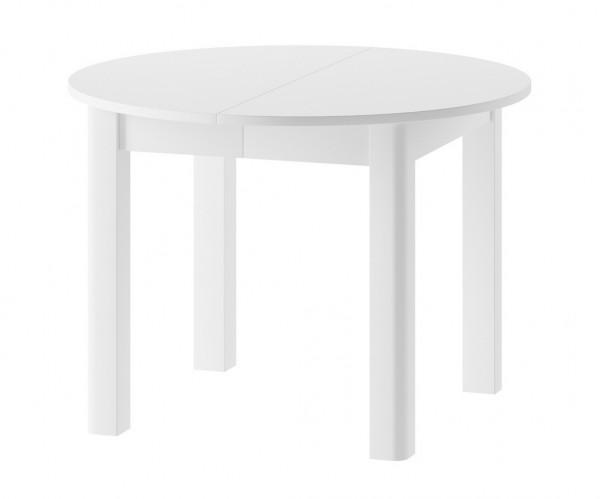 Jídelní stůl rozkládací SAPRI bílá