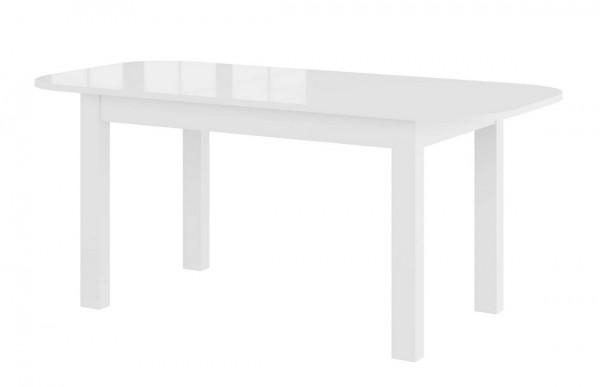 Jídelní stůl rozkládací PAOLA bílá lesk