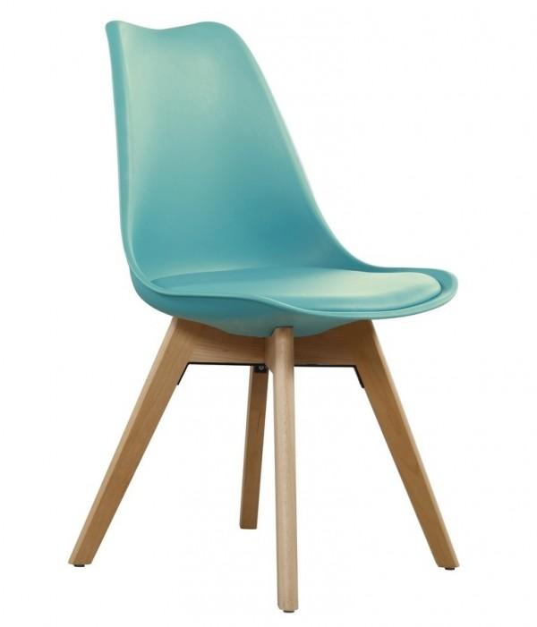 Jídelní židle CROSS II tyrkysová