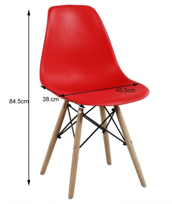 Jídelní židle MODENA II světle šedá