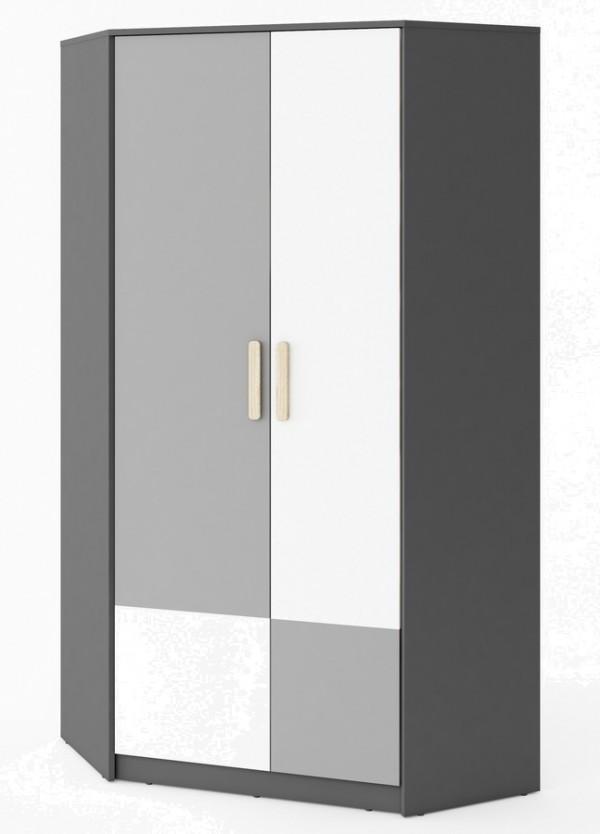 Šatní skříň rohová POK II PO-01