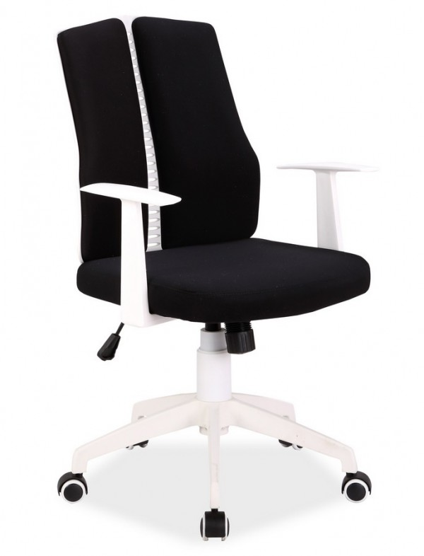 Kancelářské křeslo Q-226 černá/bílá