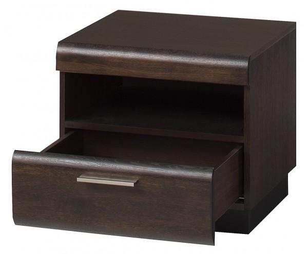 Noční stolek PORTI P-79 dub čokoládový