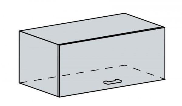 80VP h. skříňka výklopná PRAGA bk/bílá