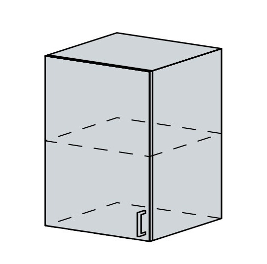 60H1D h. skříňka 1-dveřová VERONA jasan šimo