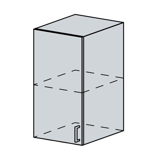 40H h. skříňka 1-dveřová VERONA jasan šimo