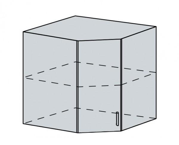 60HR h. skříňka rohová VERONA zlatý jasan