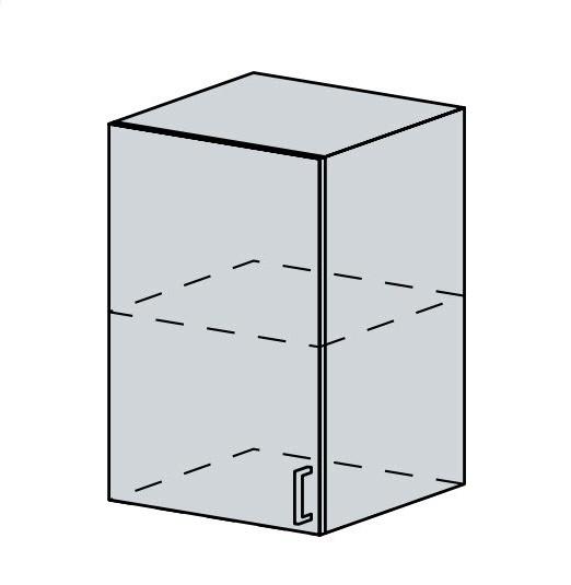 50H h. skříňka 1-dveřová VERONA zlatý jasan