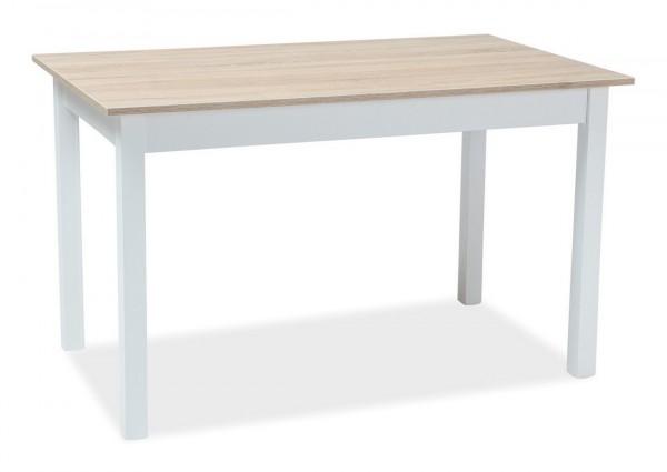 Jídelní stůl rozkládací HORACY 100x60 bílá/dub