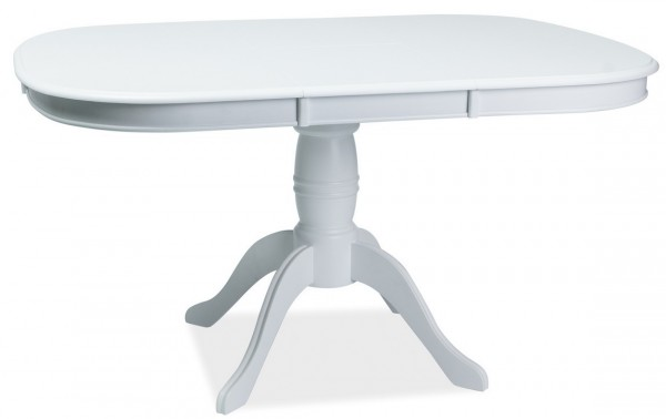 Jídelní stůl FLORENCJA rozkládací bílý
