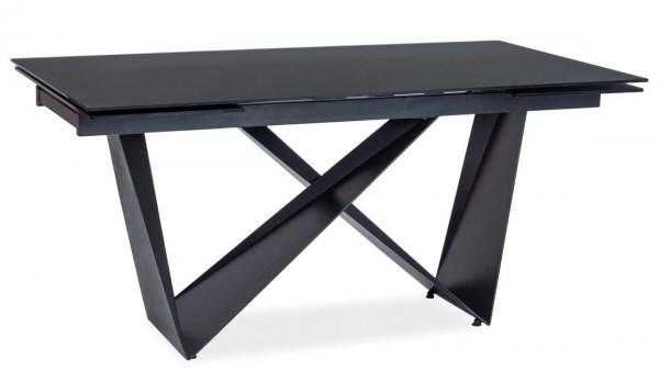 Jídelní stůl rozkládací CAVALLI I černá mat