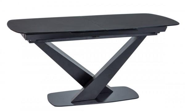 Jídelní stůl rozkládací CASSINO I černá mat