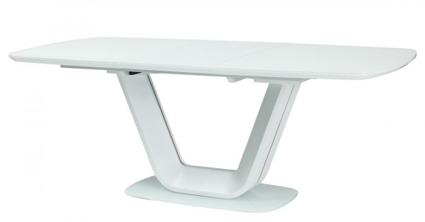 Jídelní stůl rozkládací 140x90 ARMANI bílý