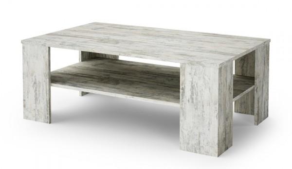 Konferenční stolek OHIO bílá borovice