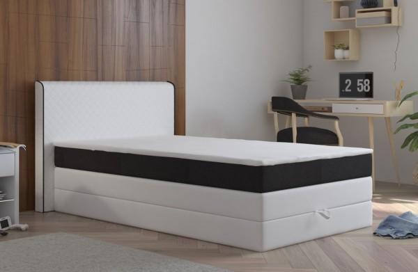 **Postel s matrací a ÚP STANFORD 140x200cm (PUR - M120/I100)